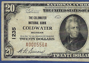 Mi 1929 20  ♚♚coldwater, Michigan♚♚  The Coldwater Nb