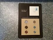 Franklin Mint Coin Sets Of All Nations Card Burma New