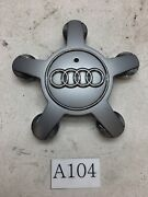 Audi A3 A4 S4 A5 A6 A7 A8 S5 Q5 R8 Tt Wheel Center Cap Oem