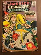 Justice League Of America 29 [1964 Gd-vg] 1st Silver-age Starman Comic