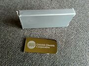 Vintage Oakdale Wisconsin Electric Co-op Cooperative Advertising Mony Clip