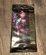 Sdcc 2018 Hasbro Exclusive Transformers Trading Card Game Slipstream/cliffjumper