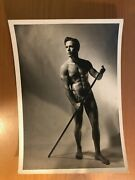 Vintage Beefcake Photo Circa 1950s - 5in By 7in