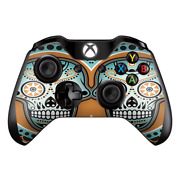 Skins Decal Wrap For Xbox One / One S Controller Sugar Skull Day Of The Dead