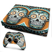 Xbox One X Console Skins Decal Wrap Only Sugar Skull Day Of The Dead