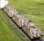Collectors Showcase Wwii German Armoured Train Set - 3 Cars 1/30 Scale