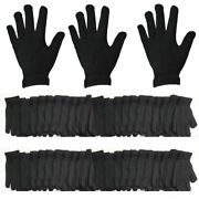 Menand039s Winter Black Warmer Knit Knitted Casual Gloves Stretch One Size Wholesale