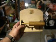 Antique Musical Mechanical Toilet Paper Holder Ultra Cool And R A R E