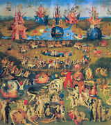Bosch The Garden Of Delights Artist Painting Reproduction Handmade Canvas Repro