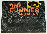 The Funnies Annual No. 1 Best Newspaper Comic-strips Trade Paperback 1959 Avon
