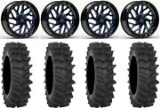 Fuel Triton Blue 20 Wheels 36 Xm310r Tires Sportsman Rzr Ranger
