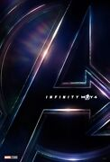 Avengers Infinity War Teaser 27x40 Ds Movie Poster May 4th Rare Marvel