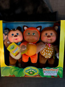 3-pk Cabbage Patch Kids Cuties Woodland Friends Theo Finn And Harper Animals