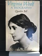 Virginia Woolf A Biography Bell Quentin 1972 Hard Cover Great Condition