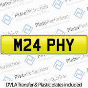 M24 Phy Murphy Cherished Private Number Plate Dvla Registration