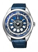 Citizen Aa7800-02l Mens Watch Campanol Cosmosign Moon Dial Fast Ship Japan Ems