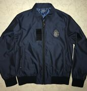 Billionaire Italian Couture Jacket Blue Size 52 = L Made In Italy