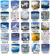 Airplane Aeroplane Concorde Lampshades To Match Wall Decals Stickers Lights Lamp