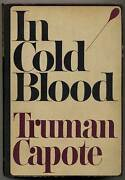 Truman Capote / In Cold Blood True Account Of Multiple Murder And Its Arc 1st Ed
