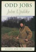John Updike / Odd Jobs Essays And Criticism Signed 1st Edition 1991