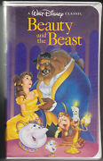 Beauty And The Beast Vhs Black Diamond Classic Vhs 1325 Need New Roof On House