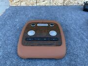 Bentley Flying Spur 06-08 Rear Interior Dome Light Roof Wood Cover Camel Oem