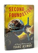 Isaac Asimov - Second Foundation - 1st 1st 1st State Binding And Dj - Gnome 1953