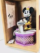 Mint New Walt Disney Minnie Mouse Mechanical Bank In Box By Pride Lines