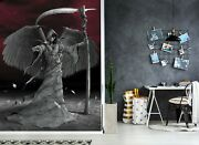 3d Wings Of Death A82 Wallpaper Wall Mural Removable Self-adhesive Vincent Zoe