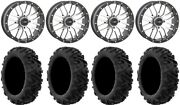 System 3 St-3 Machined 20 Wheels 34 Moto Mtc Tires Can-am Defender