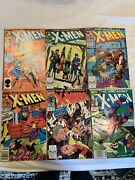 The Uncanny X-men 218, 236, 237, 246, 261, And 286 Oct 1988, Marvel Look Now