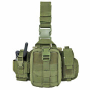 Condor Leg Pouch Emt Tactical Radio Pouch Military Molle Olive
