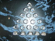 Boat Trailer Stainless Steel Lug Nuts 1/2-20 Set Of 20 Lugs 004258 Open End S/s