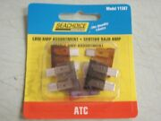 Fuse Atc Low Amp Assortment 1 2 3 5 7.5 Amp Pac Of 5 Fuses 11387 Blade Type