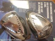 Docking Lights Led 6522ss7 Surface Mount 1500 Lumens Pair Stainless Side Mount