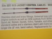 Control Cable 33c Cc33214 14 Ft Red Mid Grade Universal Outboard I/o Inboard
