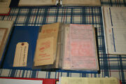 Vintage Invoice/bill Head Collection Gas And Oil, Hardware Stores Sears Etc