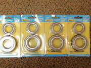 Boat Trailer Wheel Bearing Kit With Seals 50-53571 Axle 1-3/8x 1-1/16 4 Pack