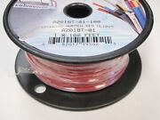 Wire Marine Boat Tinned Copper 18ga Red 100ft Roll 84-502 Wiring Electrical