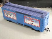 Lionel 87024 Large G Scale Christmas 2003 Blue Boxcar Holiday Season Celebrate