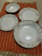 32 Pieces Including 8 Saucer 8 Bread 8 Bowl And 8 Salad Plates