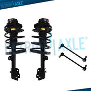 Front Struts Assembly And Sway Bar For 96-00 Chrysler Town And Country Dodge Caravan