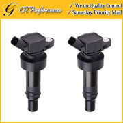 Oem Quality Ignition Coil 2pcs For 12-17 Accent Veloster/ Rio Soul/ Attitude L4