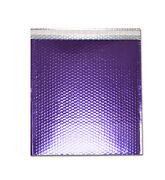 1000 Pieces Poly Padded Envelope Purple Bubble Mailer Glamour Inner 13x 17.5