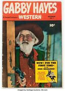 Gabby Hayes Western 1 Fawcett Publications 1948 Condition Fn....