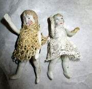Authentic Antique Doll House Lot -museum- Ddr Early Dolls Germany ,1900