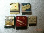 Vintage Matchbooks Los Angles Restaurants That Are Not There Anymore. Rare