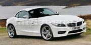Bmw Z4 Roadster E89 Black Indoor Fabric Car Cover W/ Mirror Pockets 09-17 New