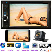 Sony Len Camera + Car Stereo Radio Dvd Mirror Link For Ford Focus Fusion Mustang