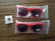 Wells Fargo Agent Promotional Wagon Star Pin And Sunglasses